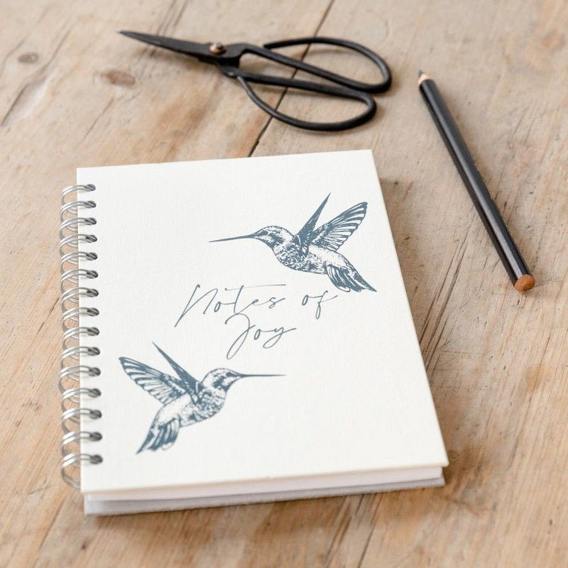 Personalised Notes Of Joy Notebook