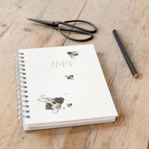 Personalised Bees Hardback Notebook