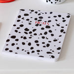 Personalised Dalmatian Print Notebook