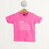 Girl Definition T Shirt - Funky Laser