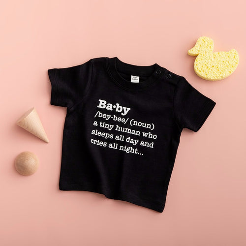 Baby Definition T Shirt - Funky Laser