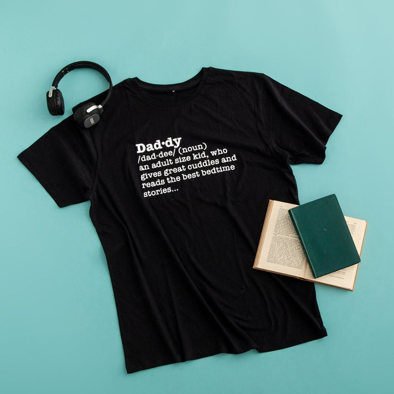 Daddy Definition T Shirt - Funky Laser