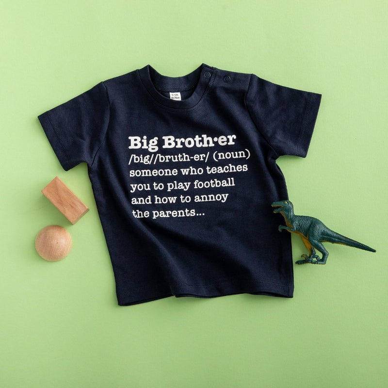 Big Brother Definition T Shirt - Funky Laser