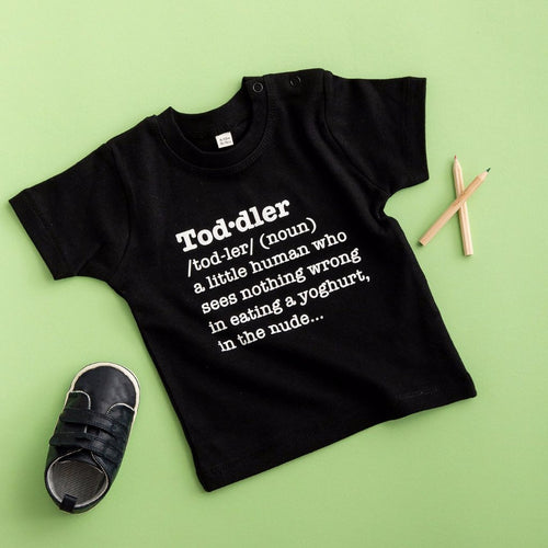 Toddler Definition T Shirt - Funky Laser