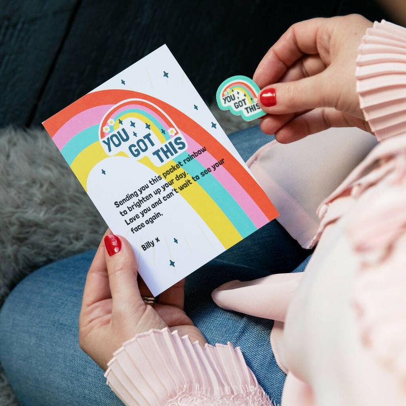 You Got This Positivity Rainbow Token And Message Card