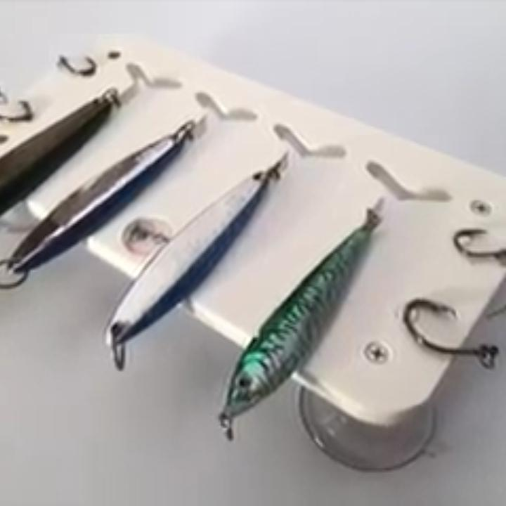 Jig and Hook Holder - Wet Willy's Ultimate Fishing Boat Gear - PuroPincheCast&Blast Outfitters