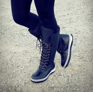 Calfy - Winter Comfy Lace Up Boots