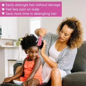 D-BRUSH™ - Hair detangling brush !