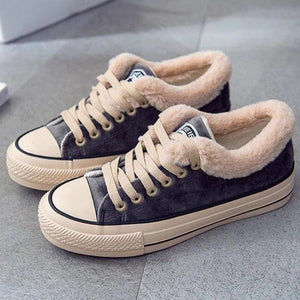 ALLWARM™ - Velvet cotton sneakers