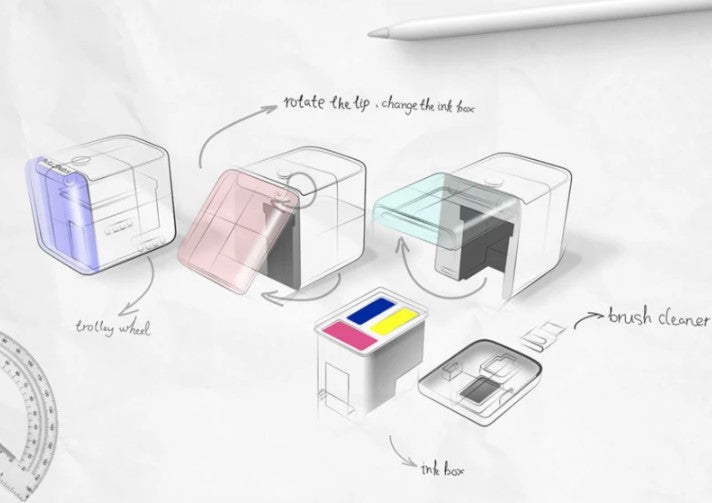 PRINTOP™ -The World's Smallest Mobile Color Printer!