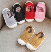 Load image into Gallery viewer, KIDEEBOW Mesh-Knit Baby Firstwalker Shoes
