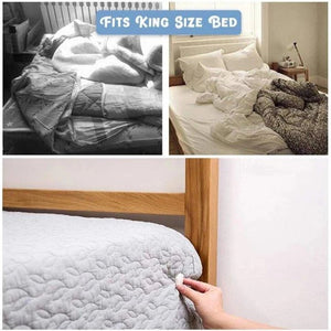 EASYBED Bed Sheet Grippers Clip Set
