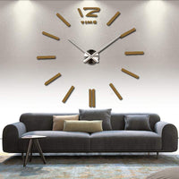 Creative 3D DIY Wall Clock