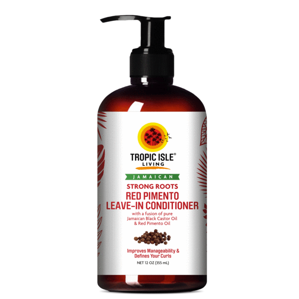 Tropic Isle Living Strong Roots Red Pimento Leave In Conditioner