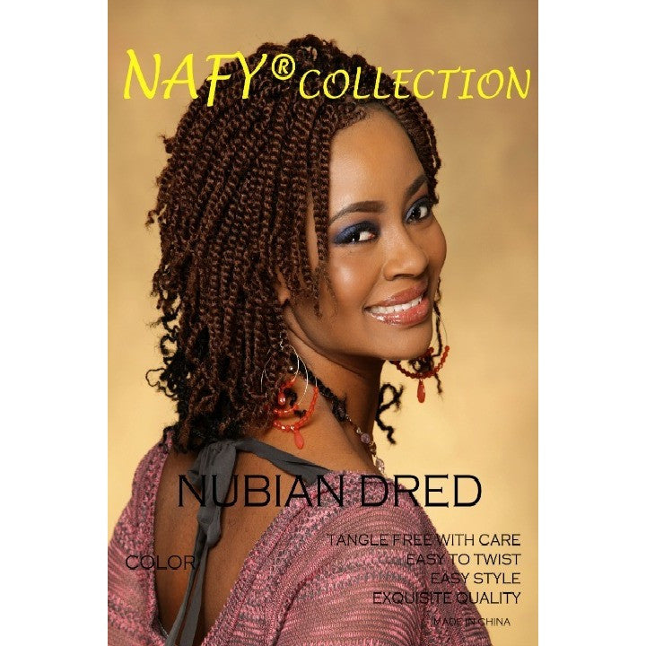 Nafy Collection Nubian Dred Twist Hair Hattach 233 Beauty