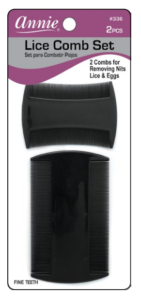 Annie International - LICE Removal Comb Set