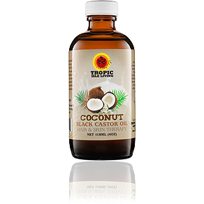 Tropic Isle Living COCONUT Black Castor Oil