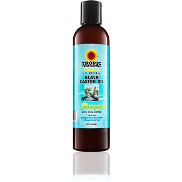 Tropic Isle Living Jamaican Black Castor Oil All Natural Shampoo with Shea Butter