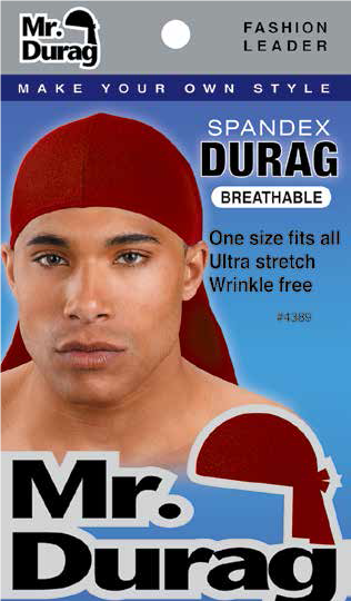 Annie International - Mr Durag Spandex Durag Assorted Colors