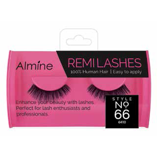 Annie International - Almine Remi Human Hair Eyelashes Black