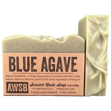 A Wild Soap Bar - Blue Agave Soap