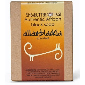 Sheabutter Cottage African Black Soap - ALLANBLACKIA