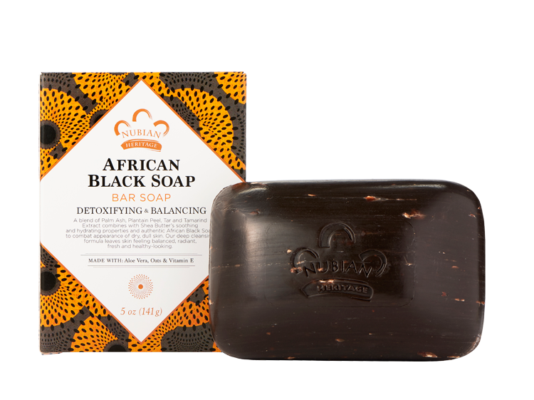 Nubian Heritage - African Black Soap Bar Soap