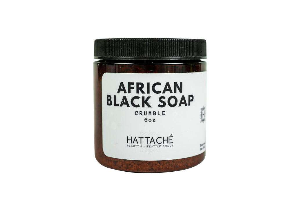 Hattache Natural Soap - African Black Soap (CRUMBLE)