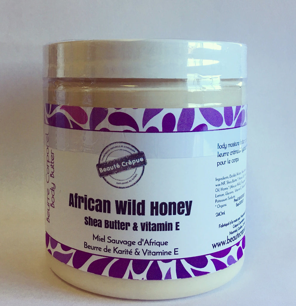 Beaute Crepue - African Wild Honey Shea Butter