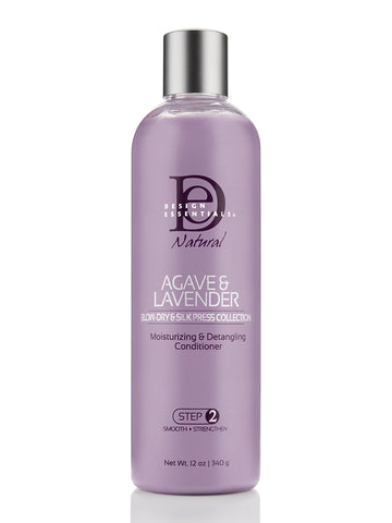 Design Essentials Agave & Lavender Moisturizing & Detangling Leave-in Conditioner