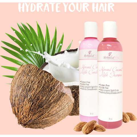 Botanical Bliss Almond Milk Hydrating Shampoo