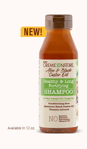 Creme of Nature - Aloe & Black Castor Shampoo