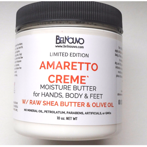 BelNouvo Amaretto Creme Body Butter (Limited Edition)