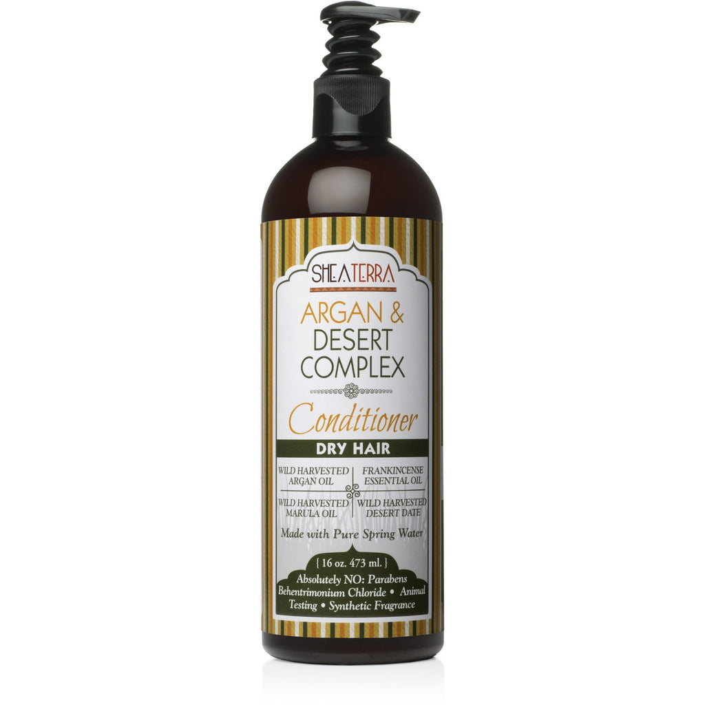 SheaTerra Organics - Argan & Desert Complex Natural Conditioner (DRY HAIR)