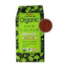 Radico ORGANIC Hair Colour - Auburn Red