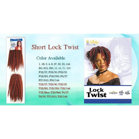 Biba Hair Short Lock Twist Hair