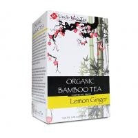 Uncle Lee's Tea - Organic Bamboo Tea LEMON GINGER Flavor