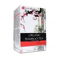 Uncle Lee's Tea - Organic Bamboo Tea HIBISCUS Flavor
