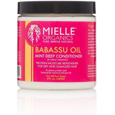 Mielle Organics Babassu Oil and Mint Deep Conditioning Protein/Moisture Replenisher