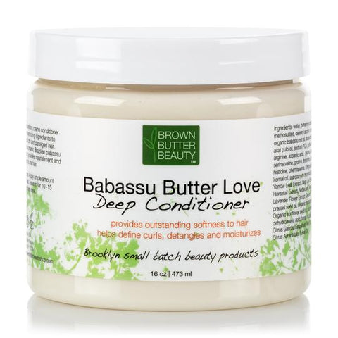 Brown Butter Beauty Babassu Cream Deep Conditioner