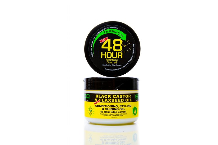 ECOCO Black Castor & Flaxseed Oil - Conditioning Shining Styling Gel
