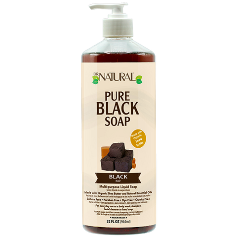 Dr Natural Pure Castile Soap - Black Soap