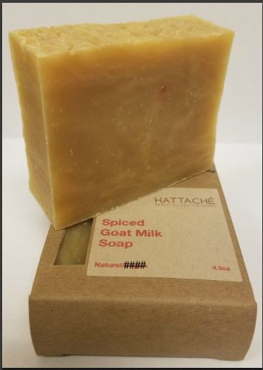 Hattache Natural Soap - Spiced Goat Milk