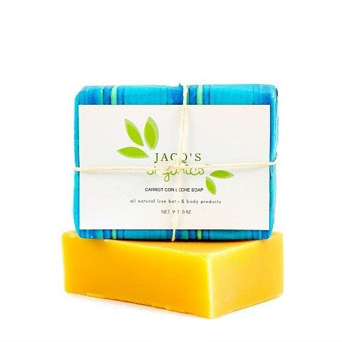 Jacqs Organics Carrot Con Leche Cleansing Bar