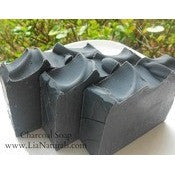 Lia Naturals Charcoal Hand Made Facial Soap