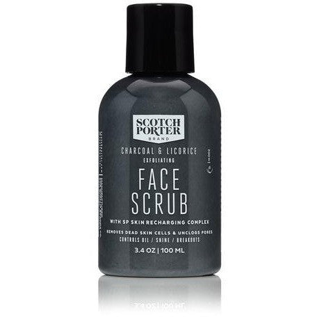 Scotch Porter Charcoal & Licorice Exfoliating Face Scrub