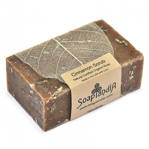 Soaplandia - Cinnamon Scrub Bar Soap