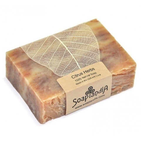 Soaplandia - Citrus Herbs Bar Soap
