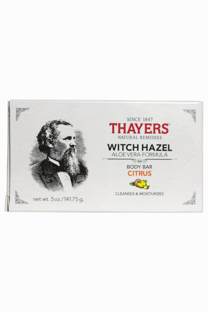 Thayers Citrus Witch Hazel Body Bar with Aloe Vera