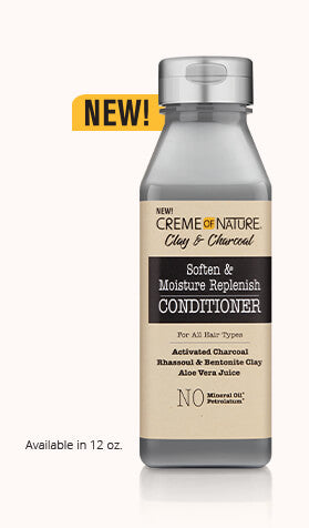 Creme of Nature - Clay & Charcoal Conditioner